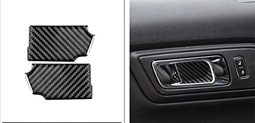 Aluminum Headlight+Air Condition Switch Button Cover Trim for Ford Mustang 15-19