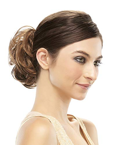 Mimic Curly Ponytail Wrap Elasticized Womens Scrunchie 4.5