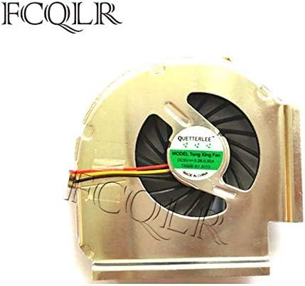 FCQLR Ventilador de la CPU del Ordenador portátil para Lenovo IBM T61 T61P MCF-217PAM05 3 Pin 42W2461 42W2460