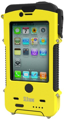 Snow Lizard SLXtreme Case for iPhone 4 and 4S, Safety Yellow by Otis Technology