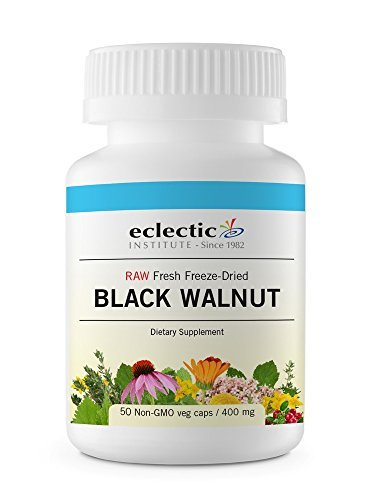 Black Walnut Freeze-Dried Eclectic Institute 50 VCaps by Eclectic Institute Eclectic Institute Black Walnut