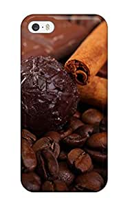 First-class Case Cover For Iphone 5/5s Dual Protection Cover Chocolate