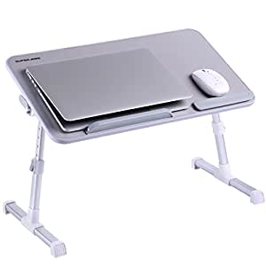 Mesa ajustable para computadora port til superjare computadora de pie port til notebook stand - Soporte portatil sofa ...
