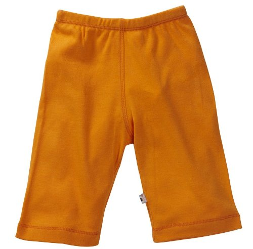 Babysoy Unisex Baby Oh Soy Comfy Pants - Tangerine - 0-3 Months