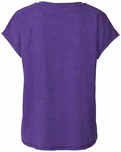 Erima Mujer Green Concept Camiseta de Loose bilberry melange