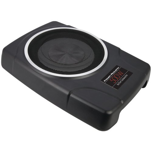 "POWER ACOUSTIK THIN-8A THIN 8"""" Preloaded Subwoofer Box elec"