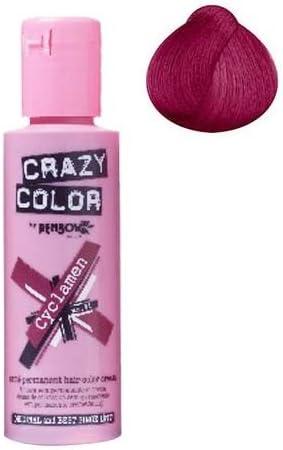 Tinte Crazy Color para el pelo, rojo Cyclamen: Amazon.es: Belleza
