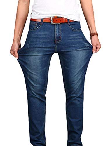 Jeans Estilo Pantaloni Tasca Bobo Skinny Gamba Con Basic Dritta Black1 Da Uomo Plain 88 Especial Stretch w6wxP8