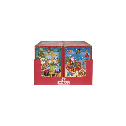 Windel Advent Calendar 2 Scenes (Economy Case Pack) 2.6 Oz Shipper (Pack of 64)