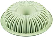 Silikomart 20.362.13.0065 Raggio Silicone Mold, Flexible Bundt Cake Pan with 3D Technology for Ribbed Detailin