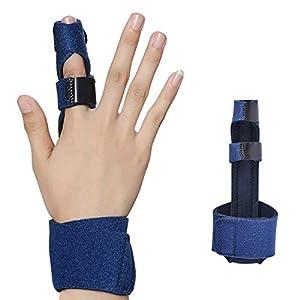 Trigger Finger Splint, Finger Support Brace Arthritis for Mallet Finger, Finger Knuckle Immobilization, Finger Fractures… 3