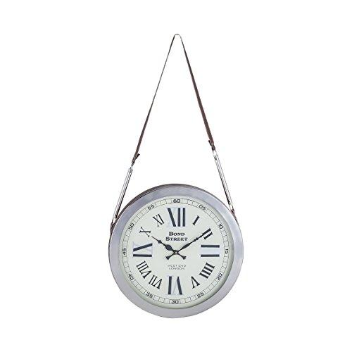 Elk Bond Street Wall Clock, Grey ()