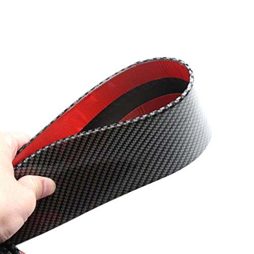 Baosity 2.5m Car Bumper Strip Skirts Lip Guard Door Edge Protector by Baosity (Image #4)