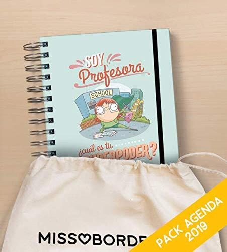 Missborderlike - Agenda Anual 2019 Dia vista + saco - Profesora