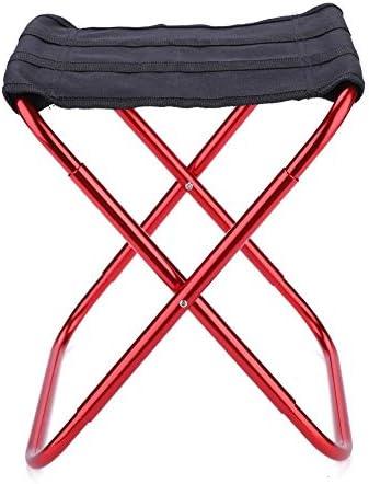 Regun Camping StoelDraagbare Kruk Aluminium Visstoel Outdoor Camping Seat