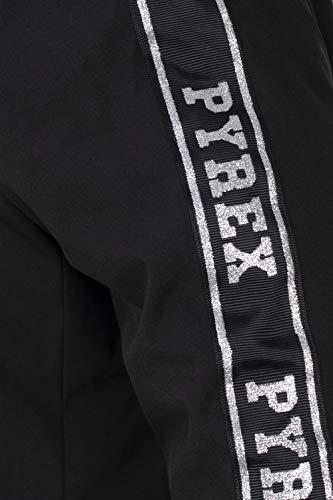 Pyrex Giaccone Reversibile Nero Negro Donna rradqZW