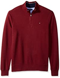 Men's Big and Tall 1/4 Zip Pullover Sweatshirt