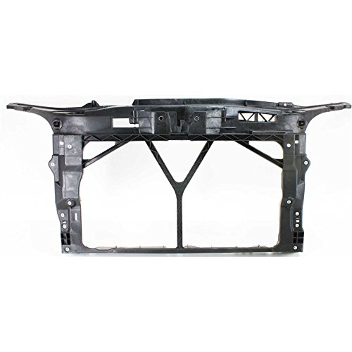Evan-Fischer EVA17972029424 New Direct Fit Radiator Support for MAZDA 3 04-09 Assembly Black Steel
