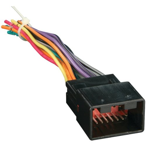 Metra 70-1771 Radio Wiring Harness for Ford/Lincoln/Mazda 1998-Up into Car, 16 Pin