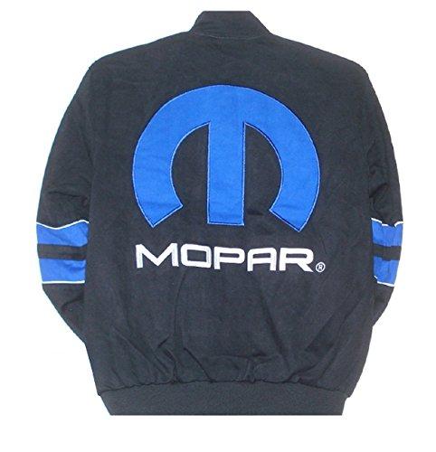 Dodge Mopar Embroidered Cotton Jacket black JH Design Generic XLarge by J.H. Design (Image #1)