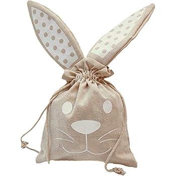 Easter Gift Bag Eggs Egg Present Ribbon Handles BUNNY MEDIUM
