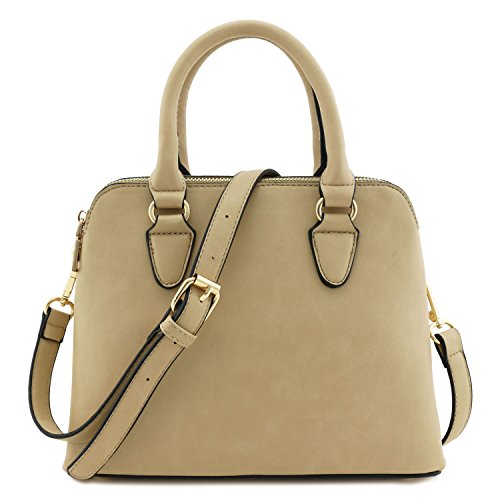 Classic-Double-Zip-Top-Handle-Dome-Satchel-Bag