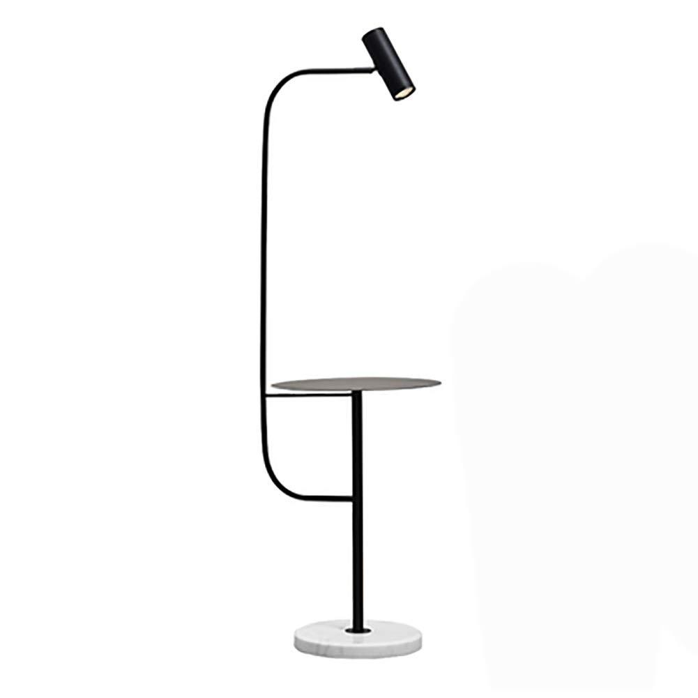 NKDK 床ランプ器具LED明るい読書とランプ現代の立ちポールライト調光対応、調節可能な照明寝室黒 -153 フロアランプ (色 : B) B07QLS82SP B
