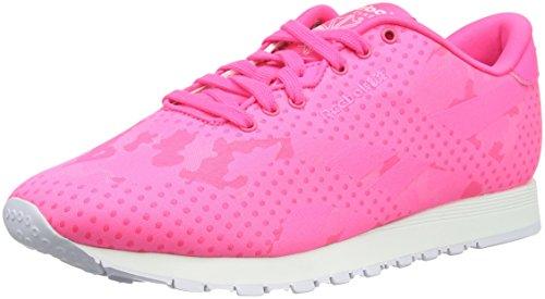 Donna Sneaker Reebok CL Nylon Jacquard rosa 39