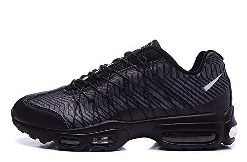 (MINGLI Liming Air Max 95 Essential Mens Running Shoe (7M US / 40, Black))