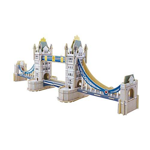 Educa Borras 16999.0 - 3D Monument - Puzzle - Tower Bridge
