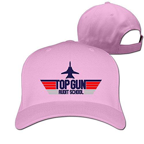 TopSeller Top Gun Adjustable Peaked Baseball Caps Hats For Unisex (Womens Top Gun Fancy Dress)