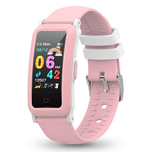YoYoFit Kids Fitness Tracker with Heart Rate, Activity Tracker with Blood Pressure and Blood Oxygen, Health Watch with…