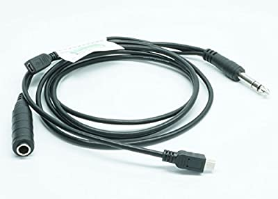 Nflightcam Aircraft Audio/Power Cable for GoPro Hero