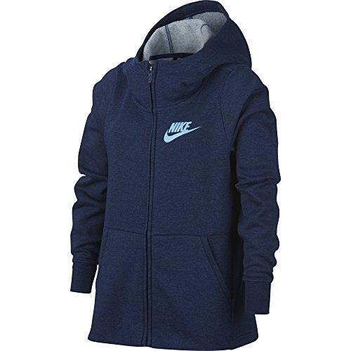 478 Capuche Zip Htr Blue Full Void à Nike Fille Sportswear Chill Veste Blue Bleu xX6wO