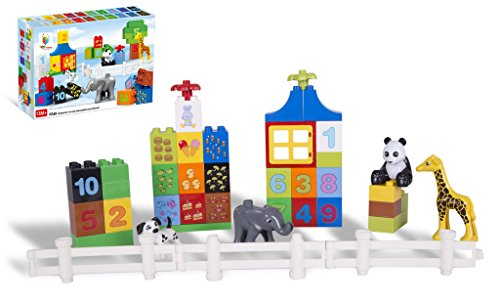 Toys Bhoomi Numerical Learning Building Block Set   42 Pieces