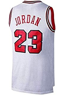 3b2ef5443 VICTOREM Mens NBA Michael Jordan  23 Chicago Bulls Basketball Jersey Retro  Gym Vest…