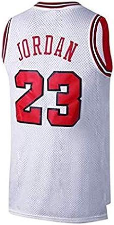 Victorem NBA Michael Jordan #23 Camiseta de Baloncesto para ...