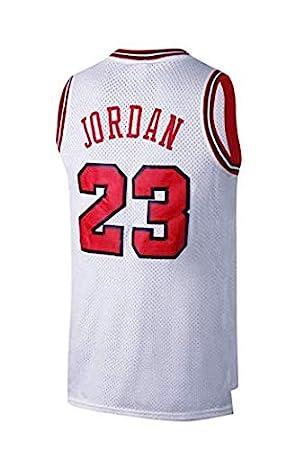 timeless design 35c87 aa6f3 VICTOREM Mens NBA Michael Jordan #23 Chicago Bulls Basketball Jersey Retro  Gym Vest Sports Top M-XXL
