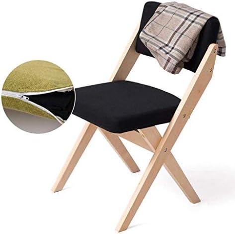 HTL Chaise Pliante Chaise de Salle À Manger En Bois Restaurant Chaise de Café Dossier Intérieur