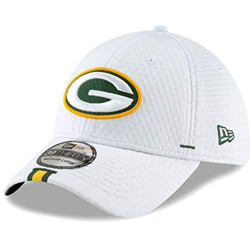 New Era 2019 NFL Green Bay Packers Training Camp Hat Cap Flex 39Thirty (L/XL)