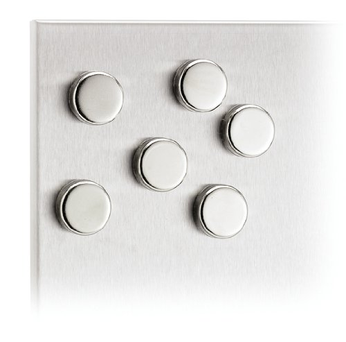 Muro Magnet (Blomus 2-1/2cm Metal Magnets, Set of 6)