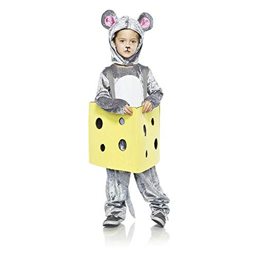 Seeing Red Child Mouse in Cheese Costume -