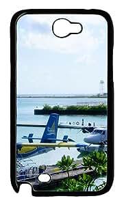 Maldives Airport Custom Samsung Galaxy Note II N7100 Case Cover ¨C Polycarbonate ¨CBlack