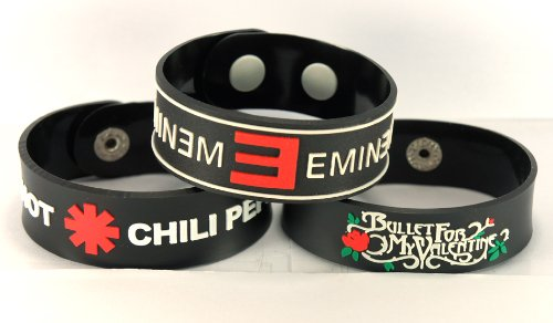 red hot chili peppers bracelet - 6