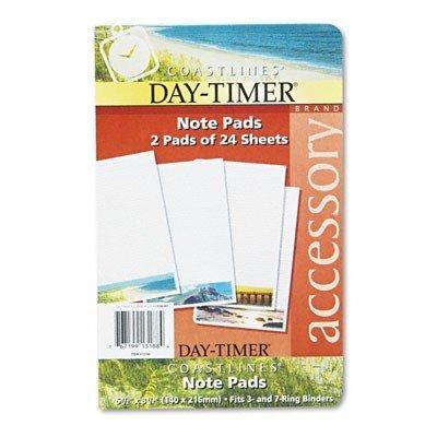 DTM13188 - DAYTIMER'S INC. Coastlines Notepads w/Four Designs