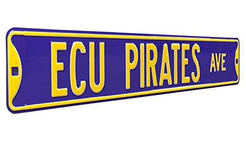 East Carolina University (ECU) Heavy Duty, Steel Street Sign