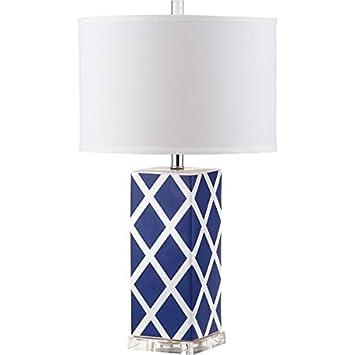 Amazon.com: Safavieh Lighting Collection Jardín Azul Marino ...