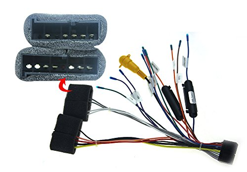 Ford Head Unit Wiring Harness : Joying jy c ford for car auto wiring harness cable