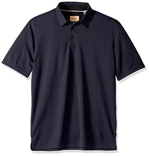 Quiksilver Waterman Men's Water 2 Polo Shirt, Parisian Night, M