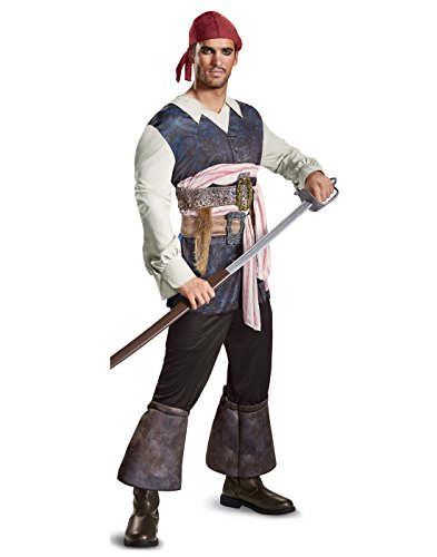 DISGUISE Jack Sparrow Classic Adult Costume Std -